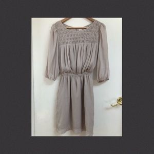 MAX STUDIO gorgeous neutral/nude dress, sz sm